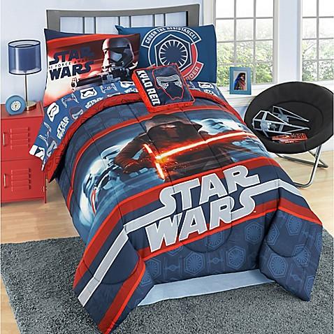 Star Wars Episode 7 Reversible Comforter Set Bed Bath