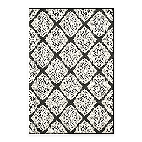 Safavieh Cottage Diamond Damask Indoor/Outdoor Rug at Bed Bath & Beyond in Cypress, TX | Tuggl