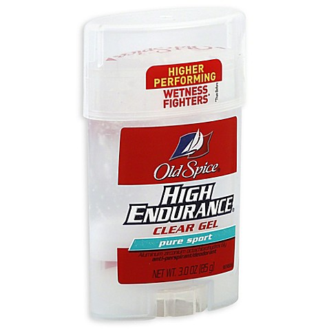 Old Spice 174 High Endurance 174 3 Oz Clear Gel Anti Perspirant