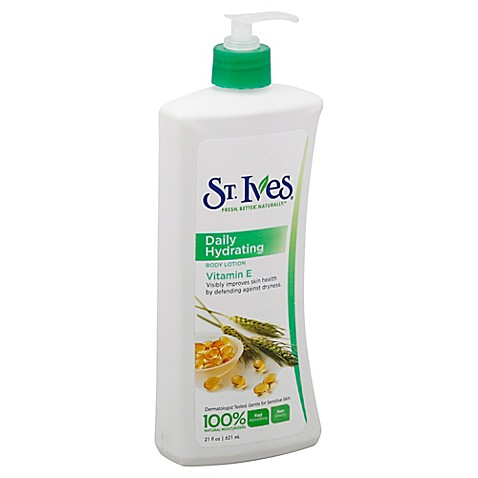Buy St. Ives® 21 oz. Daily Hydrating Vitamin E Body Lotion from Bed Bath & Beyond