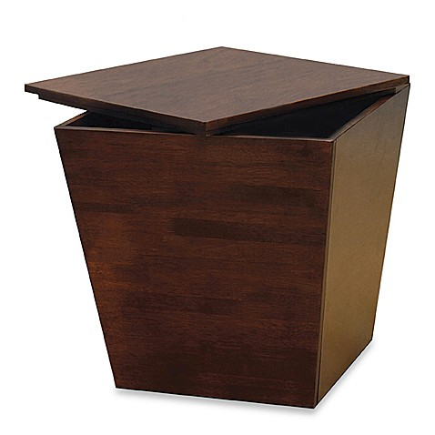 tapered storage accent table storage cube bed bath beyond. Black Bedroom Furniture Sets. Home Design Ideas