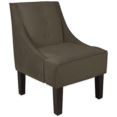 Buy skyline furniture fairbanks chair in velvet pewter for Furniture fairbanks