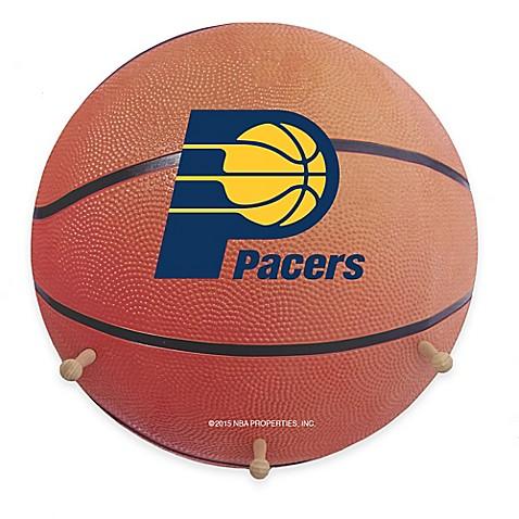 Nba Indiana Pacers Team Logo Basketball Coat Rack Bed