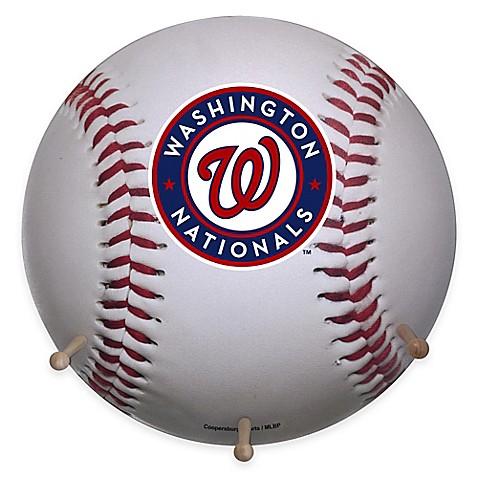 Mlb Washington Nationals Team Logo Baseball Coat Rack