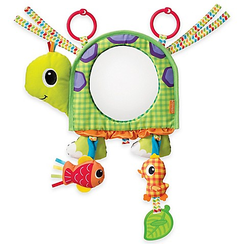 stroller toys infantino topsy turvy discover and play activity mirror from buy buy baby. Black Bedroom Furniture Sets. Home Design Ideas