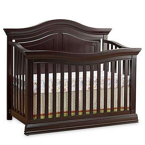 Sorelle Providence 4 In 1 Convertible Crib In Dark Espresso Buybuy Baby