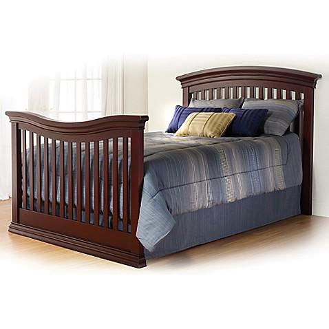 Sorelle Torino Full Size Bed Rails In Cherry