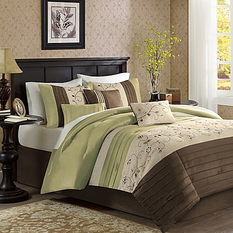 Madison Park Serene 7-Piece Comforter Set at Bed Bath & Beyond in Cypress, TX | Tuggl