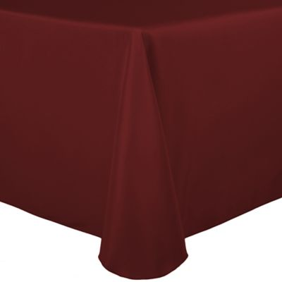 Basic Polyester Oblong Tablecloth Bed Bath Amp Beyond