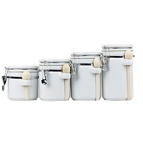 Kitchen Canister Sets With Spoons