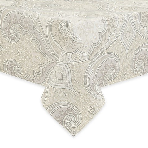 Buy echo design juneau 52 inch x 70 inch oblong tablecloth for Table linens 52 x 70