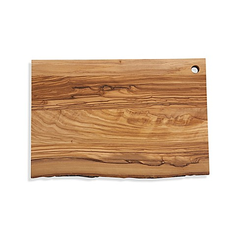 Olive Wood 14-Inch x 9-Inch Oblong Cutting Board at Bed Bath & Beyond in Cypress, TX | Tuggl
