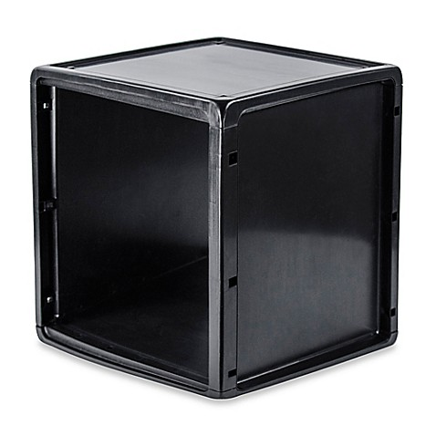 b+in® Plastic Storage Cube - Bed Bath & Beyond