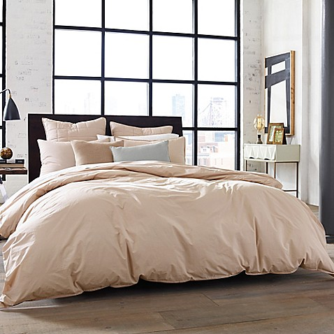 Buy Kenneth Cole New York Escape King Duvet Cover In Blush