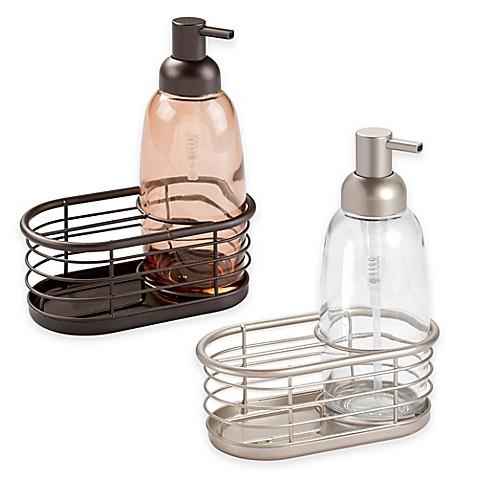 Interdesign forma soap pump caddy bed bath beyond - Soap pump caddy ...