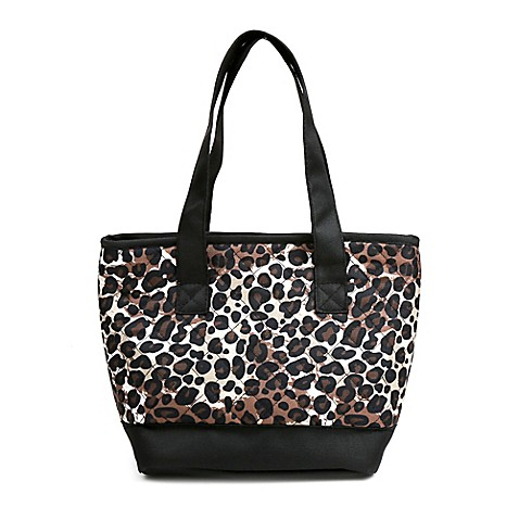 Buy Fit & Fresh® Anna Insulated Lunch Tote in Cheetah from Bed Bath & Beyond