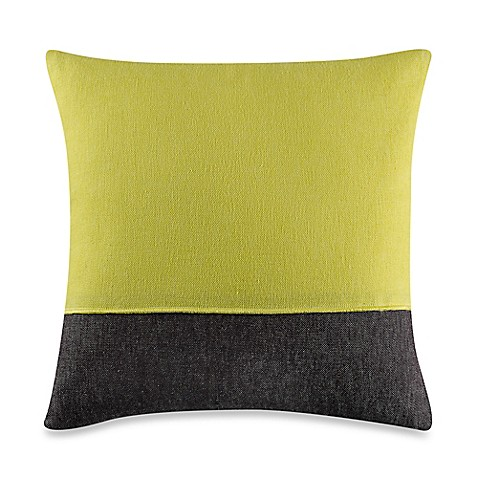 Kenneth Cole Reaction Home Mineral Blocked Square Throw