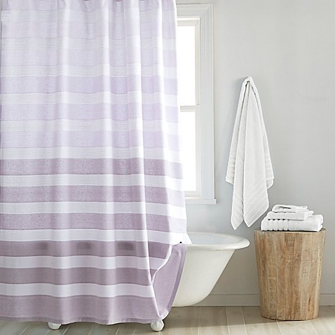 Buy Croscill 174 Highline Shower Curtain In Purple From Bed