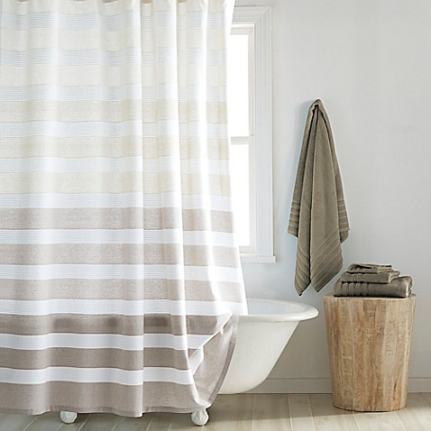 Buy Croscill 174 Highline Shower Curtain In Taupe From Bed