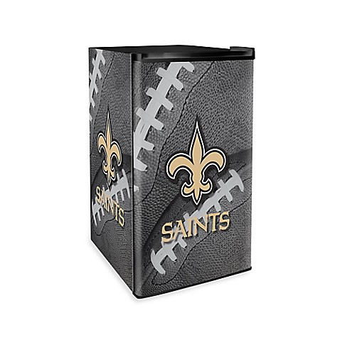 ... Orleans Saints Countertop Height Refrigerator from Bed Bath & Beyond
