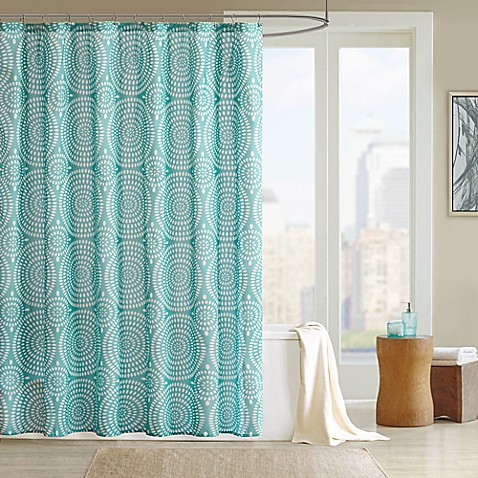 Madison Park Phoebe Shower Curtain Bed Bath Amp Beyond