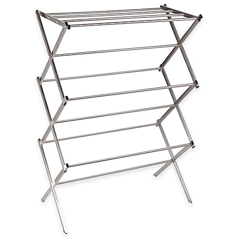 Household Essentials Folding X Frame Clothes Dryer Bed