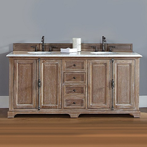 James Martin Furniture Providence 72-Inch Double Vanity ...