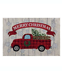 Mantel individual Dusted Tree Red Truck