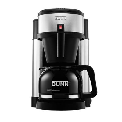Grind And Brew Coffee Maker Bed Bath And Beyond : BUNN NHS Velocity Brew 10-Cup Coffee Brewer in Black - Bed Bath & Beyond