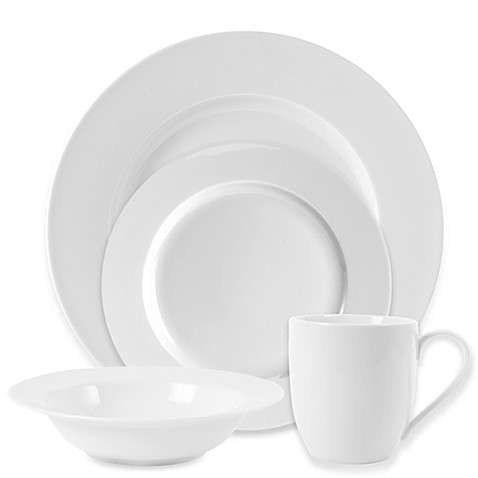 Everyday White® by Fitz and Floyd® Rim Dinnerware at Bed Bath & Beyond in Cypress, TX | Tuggl