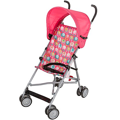 Cosco 174 Umbrella Stroller With Canopy In Elephant Train
