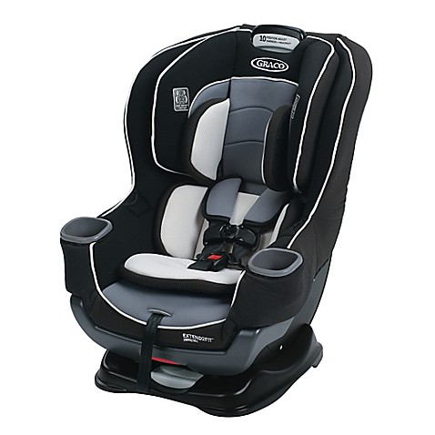 Graco extend2fit convertible car seat in gotham for Silla 4ever graco