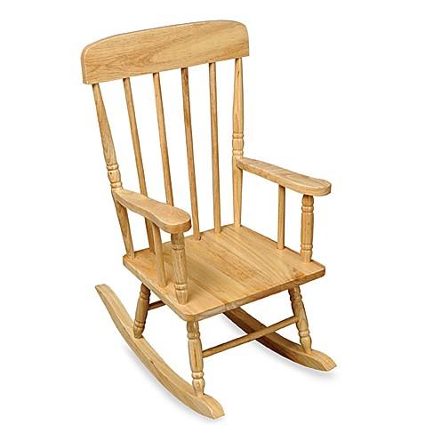 ... Toddler & Kids Furniture > KidKraft® Spindle Natural Rocking Chair