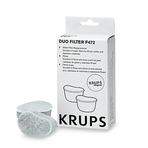 krups duo filter water filters set of 2 bed bath beyond. Black Bedroom Furniture Sets. Home Design Ideas