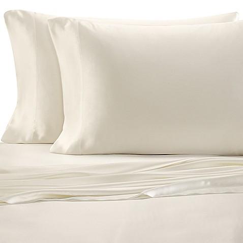 valeron estate silk sheet set bed bath beyond