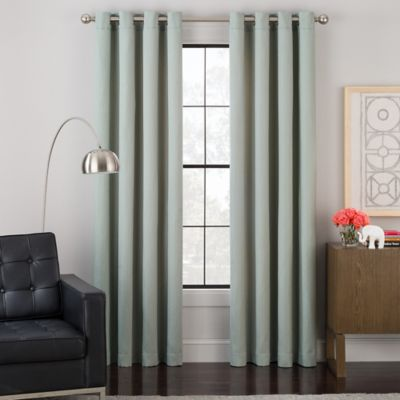 Impression Grommet Top Lined Window Curtain Panel Bed Bath Beyond