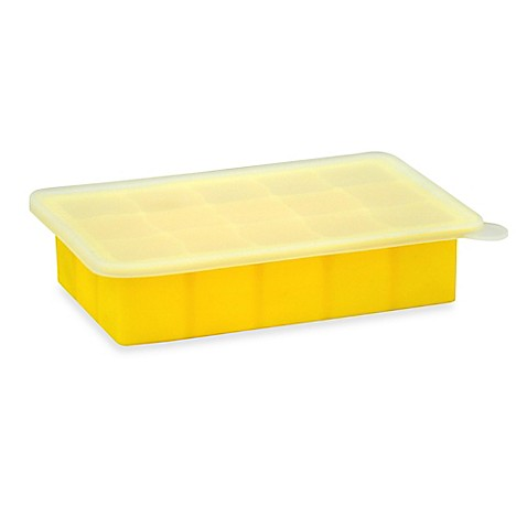 Storage Containers > green sprouts® by i play.® Fresh Baby Food Freezer Tray in Yellow from Buy