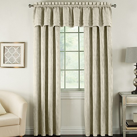 Beatrix Rod Pocket Lined Window Curtain Panel Bed Bath Beyond