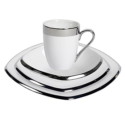 Studio TU® by Tabletops Unlimited® Sterling Square Dinnerware Collection at Bed Bath & Beyond in Cypress, TX | Tuggl