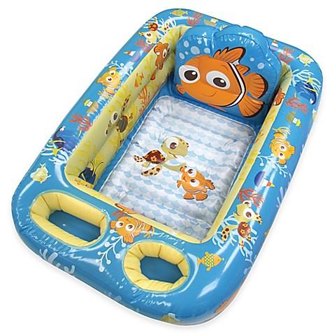 Disney 174 Nemo Inflatable Bath Tub Bed Bath Amp Beyond