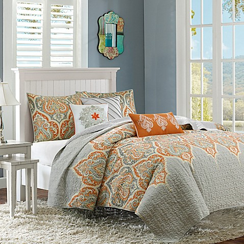 Madison Park Nisha Coverlet Set Bed Bath Amp Beyond