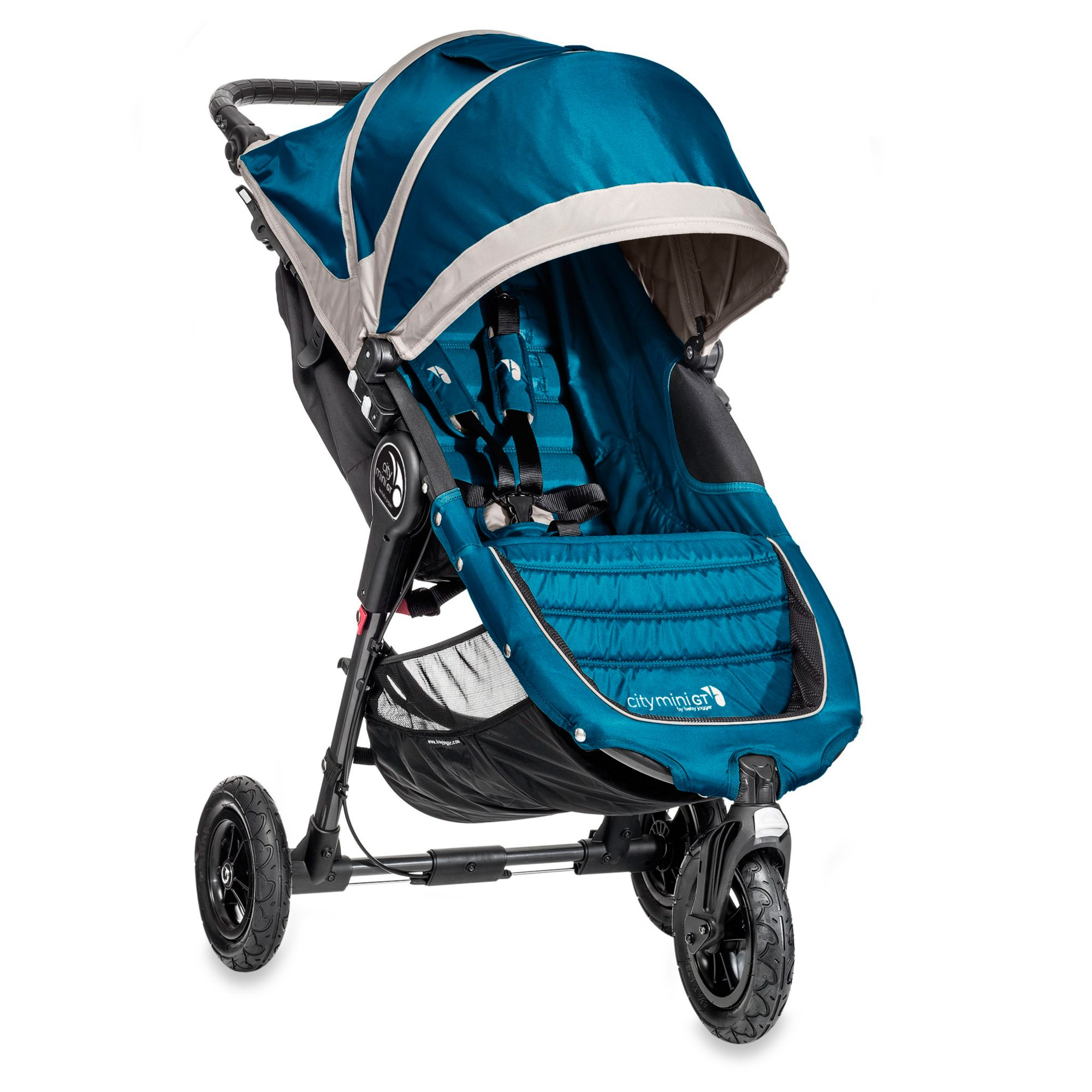 Baby Jogger® City Mini® GT Single Stroller in Teal/Grey