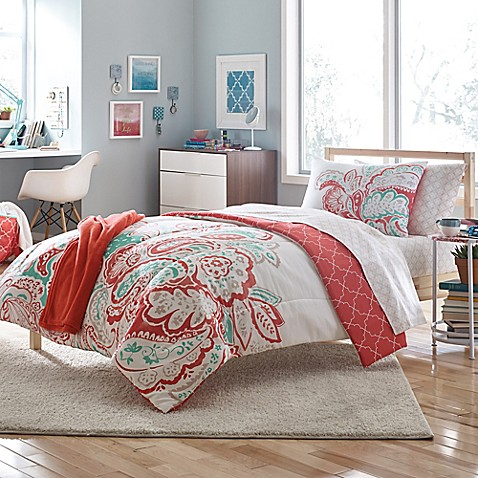 Aria 7 9 piece comforter set bed bath beyond - Bed bath and beyond bedroom furniture ...
