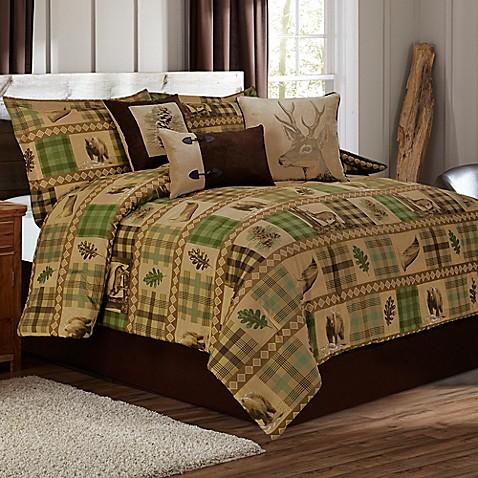 Woodland Duvet Cover Set In Tan Brown Bed Bath Amp Beyond