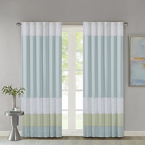 Madison Park Amherst Window Curtain Panel And Valance In