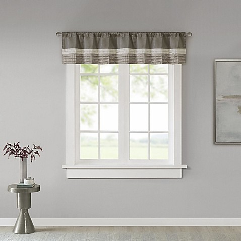 Madison Park Amherst Window Valance Bed Bath Amp Beyond