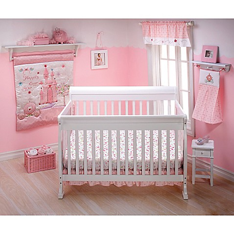 Disney 174 Princess Happily Ever After 3 Piece Crib Bedding