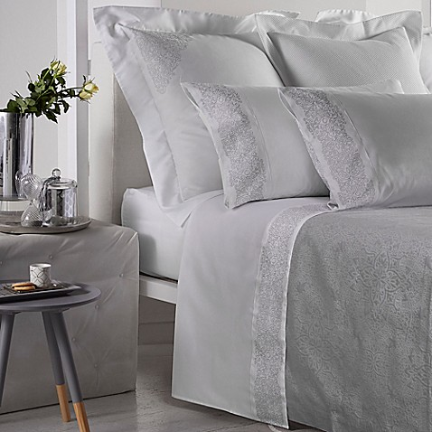Frette At Home Noto Ricamo Sheet Set Bed Bath Amp Beyond
