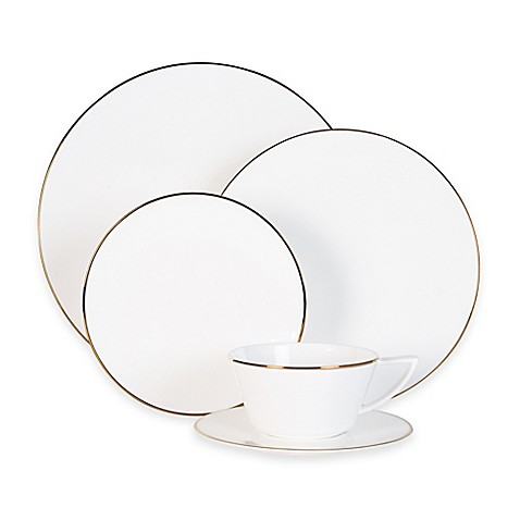 Olivia & Oliver Madison Gold Dinnerware Collection at Bed Bath & Beyond in Cypress, TX | Tuggl