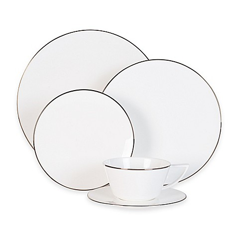 Olivia & Oliver Madison Platinum Dinnerware Collection at Bed Bath & Beyond in Cypress, TX | Tuggl